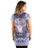 Maternity Kaftan Top - Abstract Print - Maternity Kaftan Top