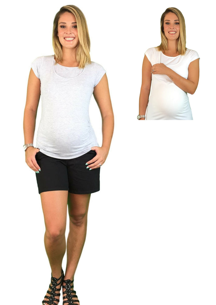 Maternity & Nursing Tee - Lilly & Me -