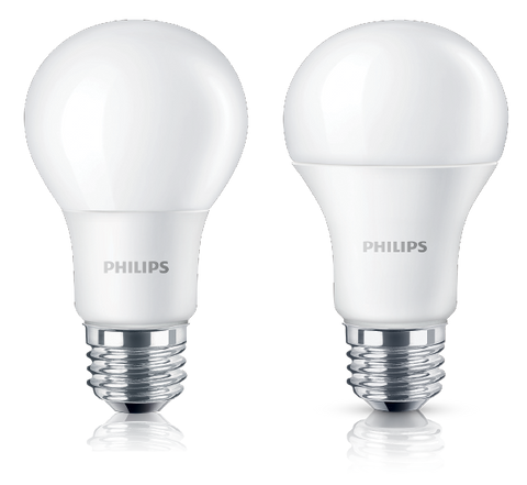 Philips 7-60W E27 6500K 230V A60 - 10 Bulbs (In-Stock)