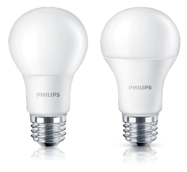 Philips 8W 70W E27 6500K 230V A60 - 12 Bulbs (In-Stock)