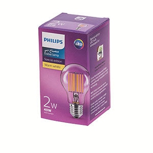Dubai Lamp LED FILA 2-40W 865 Day light - 10 pcs (In-Stock)