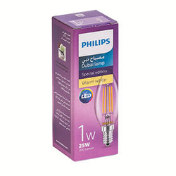 Dubai Lamp Candle 1 Watt 25W865 Day Light - 10 pcs (In-Stock)