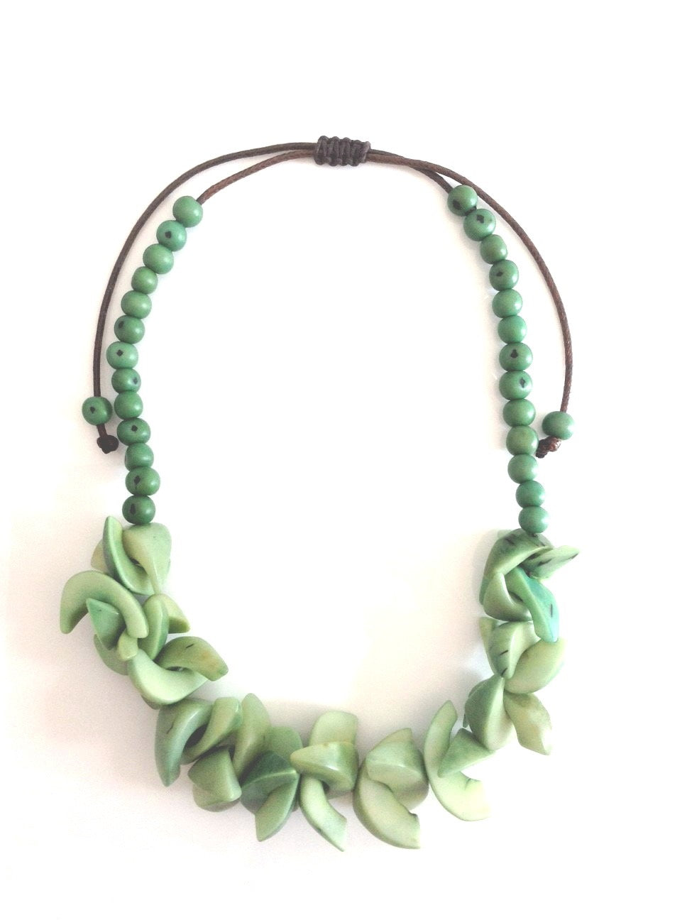 Chilli Peppers Necklace - Green