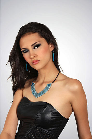Valentina Necklace - Turquoise