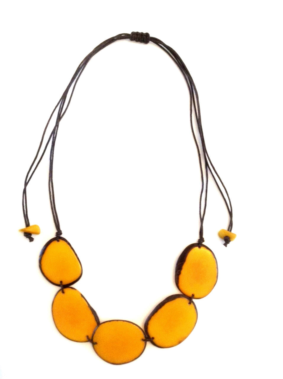 Diana Necklace - Mustard