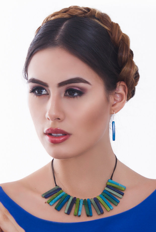 Espada earrings - Turquoise