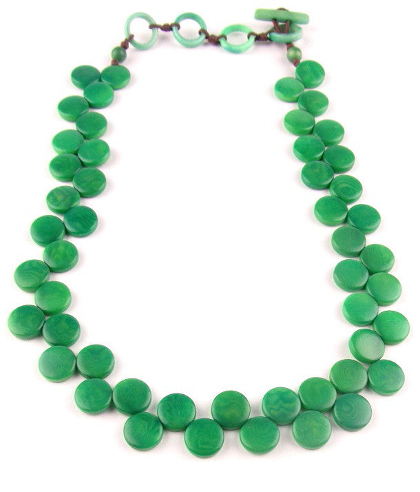 Kate Necklace - Green