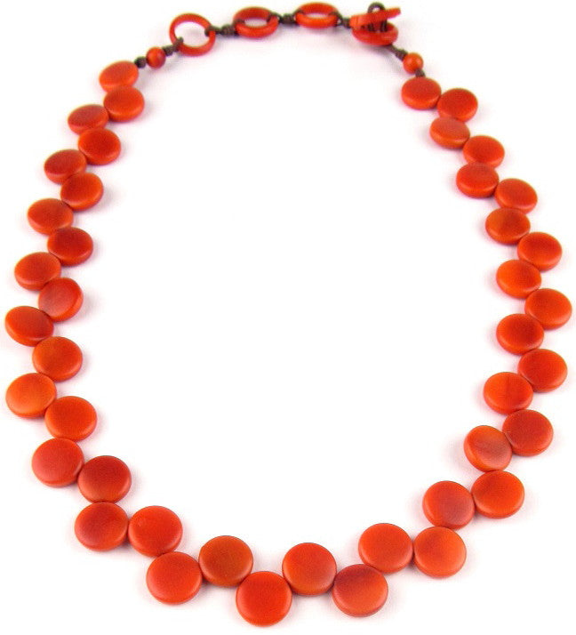 Kate Necklace - Orange