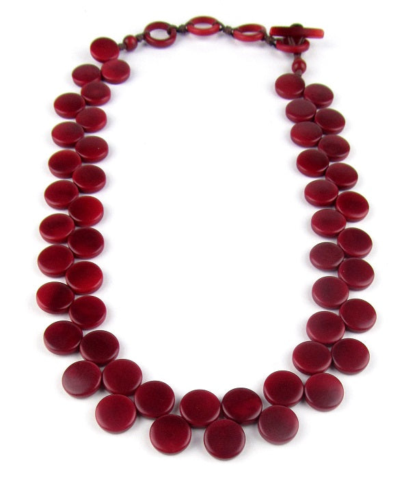 Kate Necklace - Red