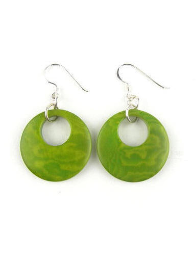 Luna earrings - Green