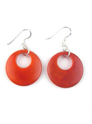 Luna earrings - Orange