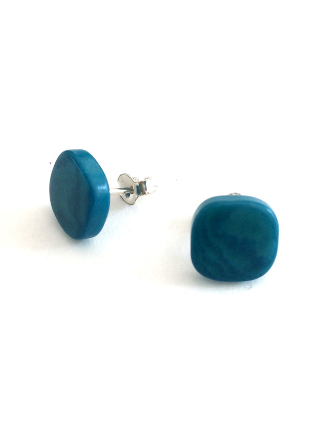 Paquito stud earrings - Turquoise