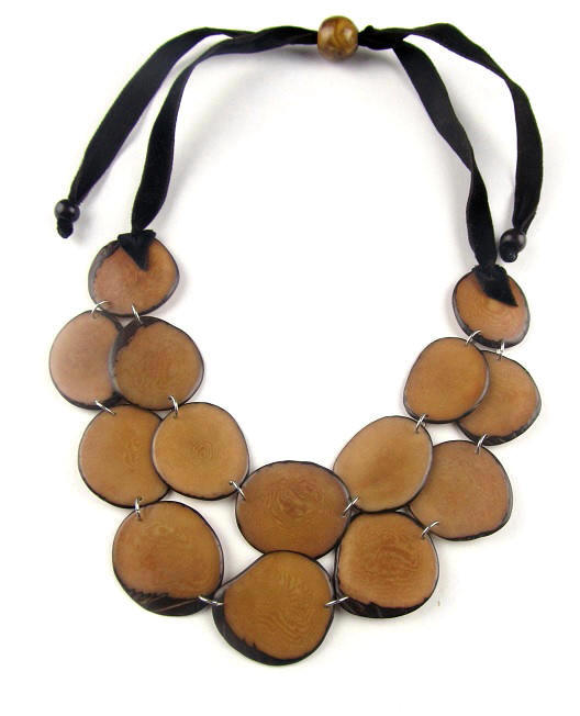 Penny Necklace - Beige