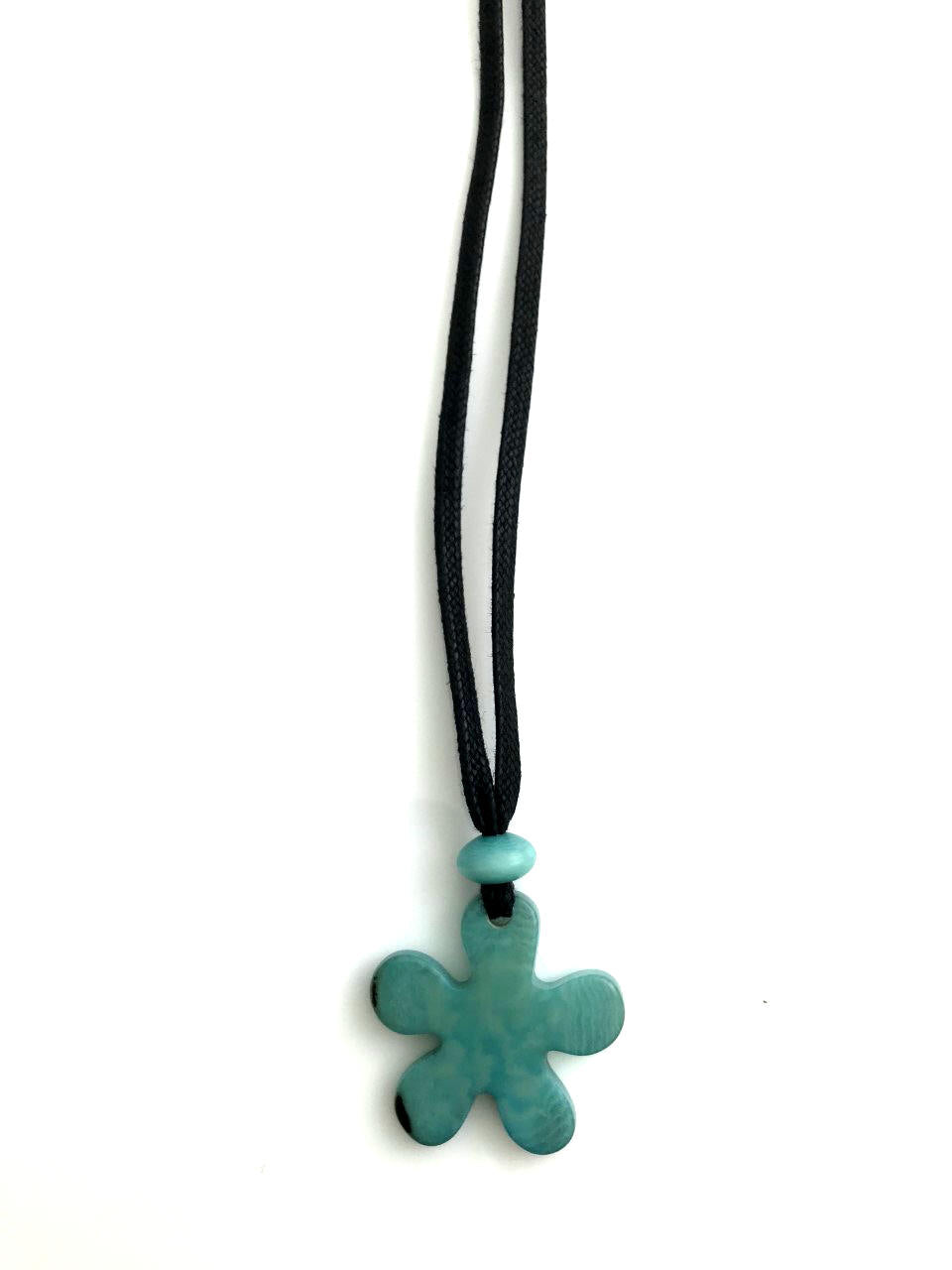 Roseta Pendant Necklace - Blue Sky