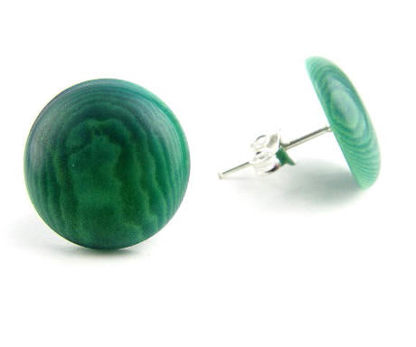 Topito stud earrings - Green