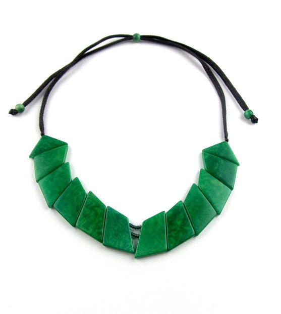 Valentina Necklace - Green