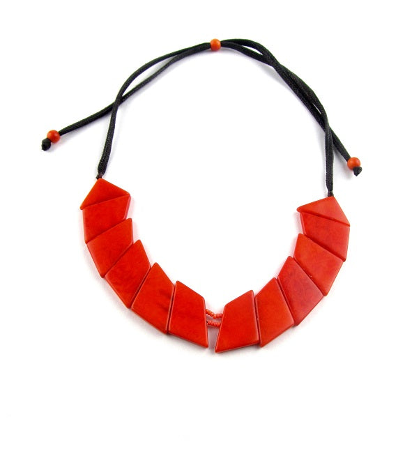 Valentina Necklace - Orange
