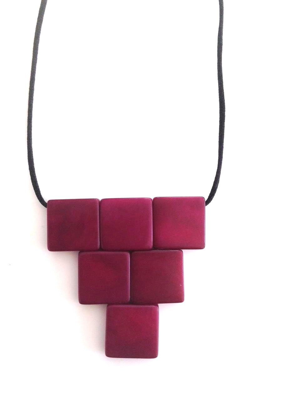 Cairo necklace - Purple