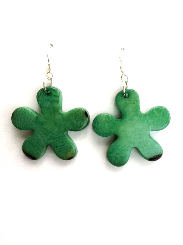 Roseta earrings - Green Mint