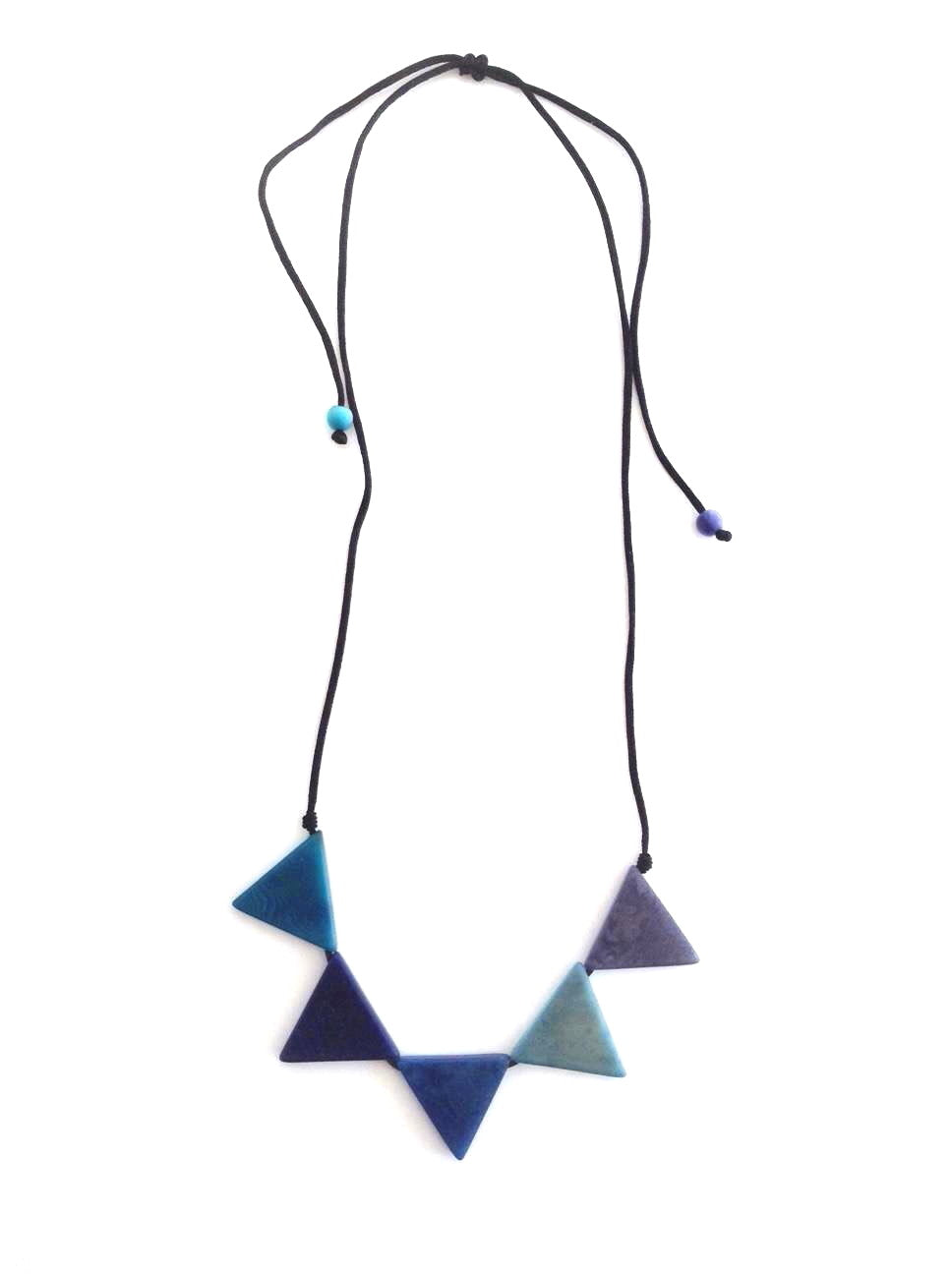 Sol necklace - Blue Tones