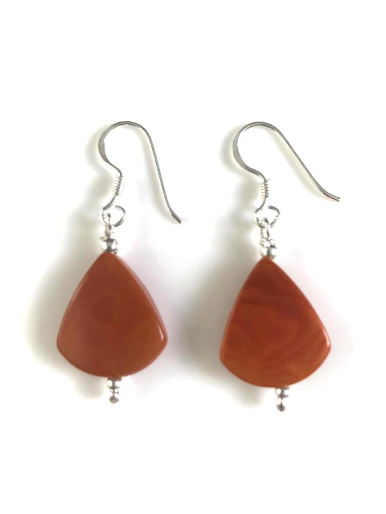 Lagrimas Earrings (14mm)  - Orange