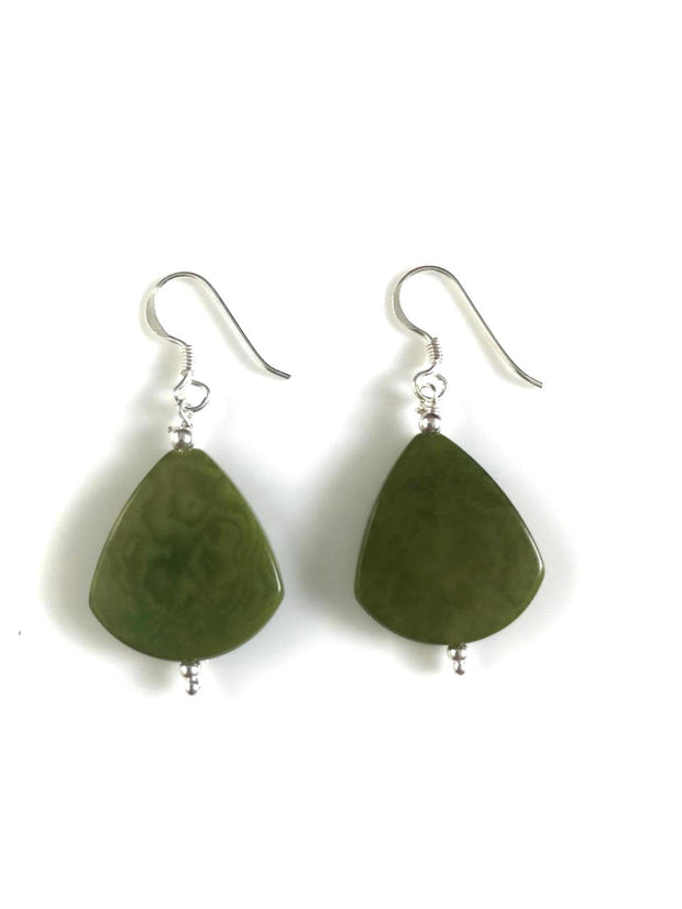 Lagrimas Earrings (20mm)  - Green Pistachio