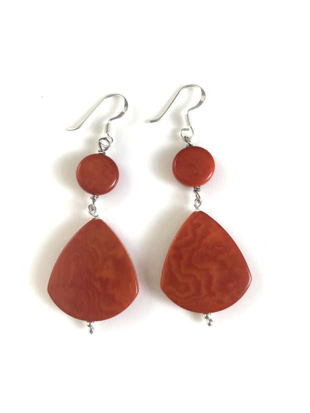 Princesa Earrings - Orange