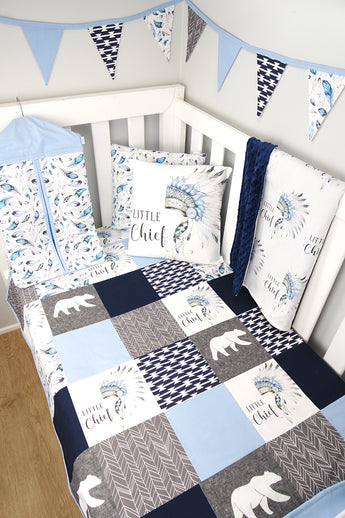 Little Chief Patchwork Nursery Collection