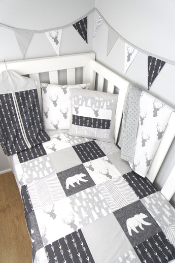 Grey Woodland Nursery Collection