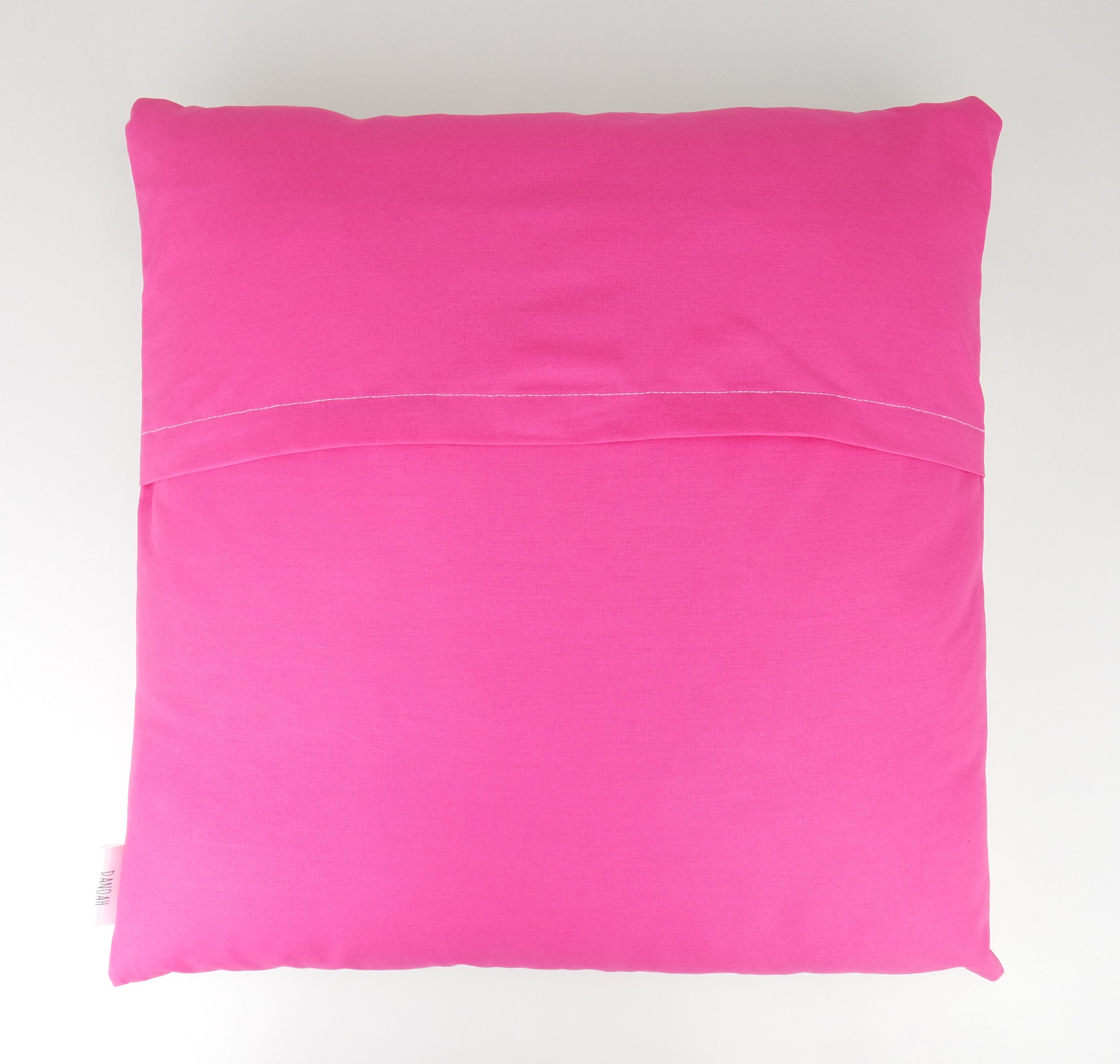 Bright Pink Dream Big Little One Cushion Cover