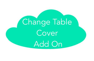 Change Table Cover ADD-ON to the Purple Boho Mermaid Collection