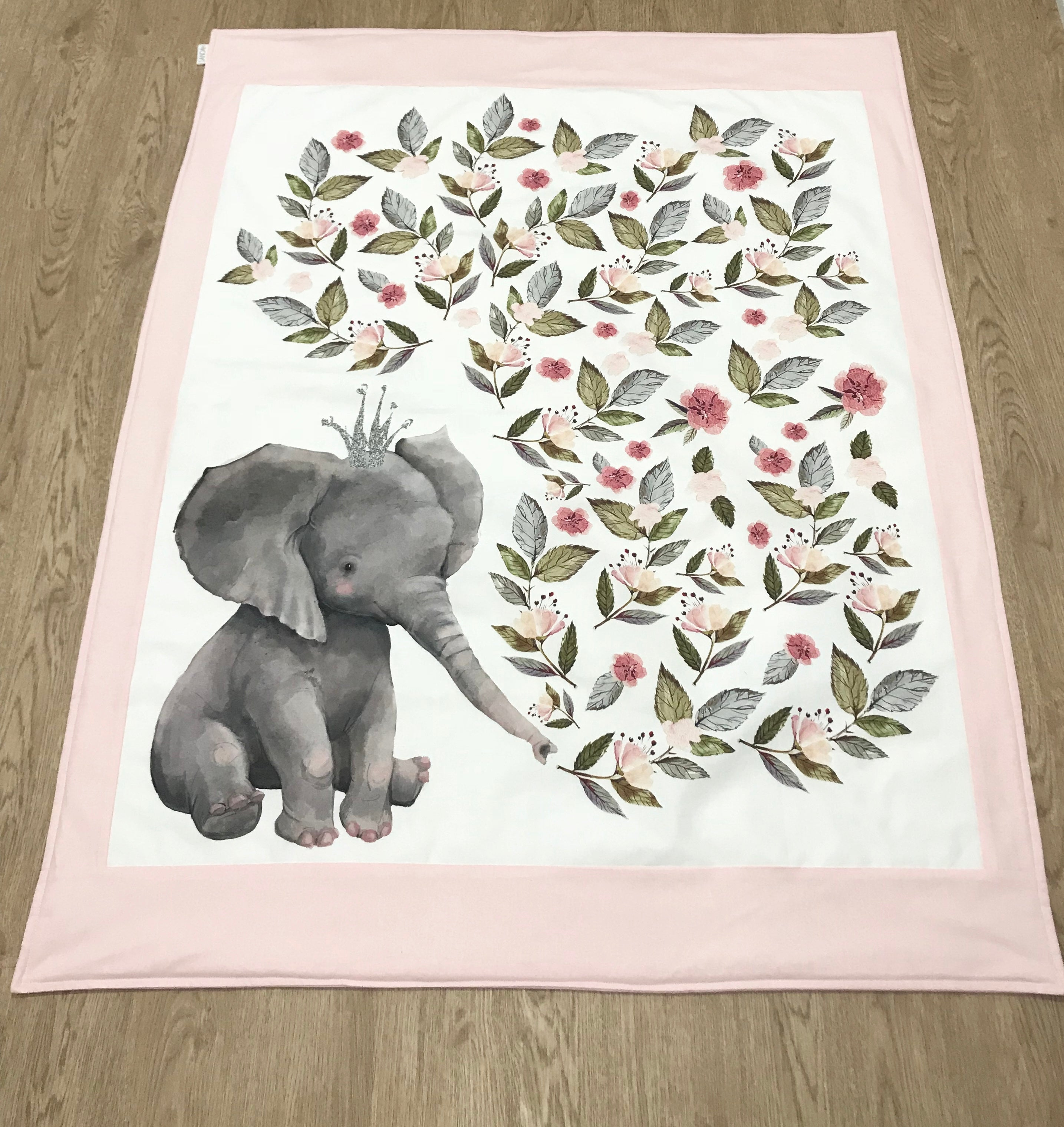 Full Collection in Pink Floral Elephant