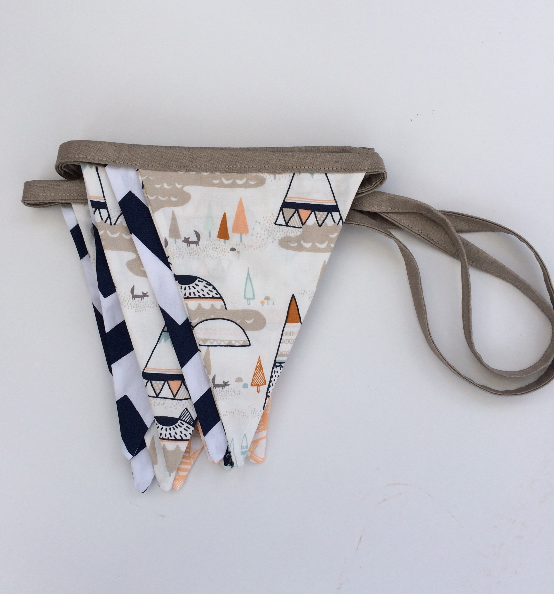 Indian Teepee Bunting Flags