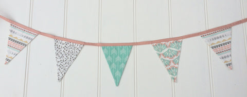 Pastel Arizona Bunting Flags