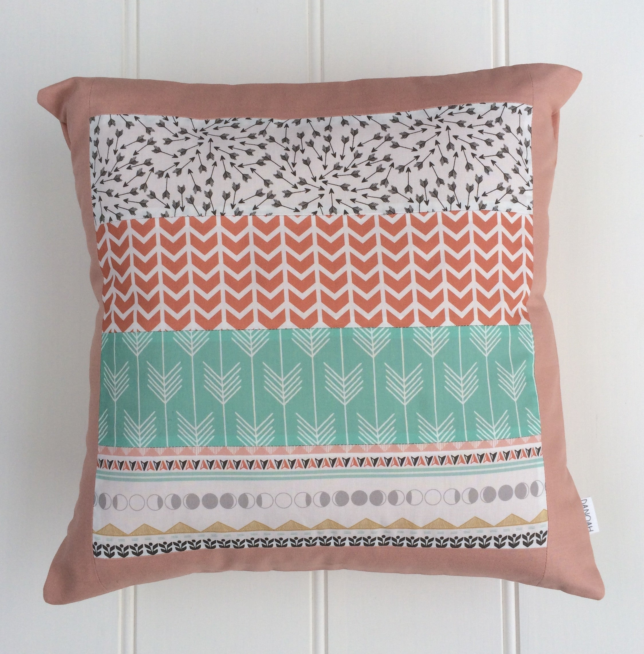 Pastel Arizona Patchwork Cushion Cover