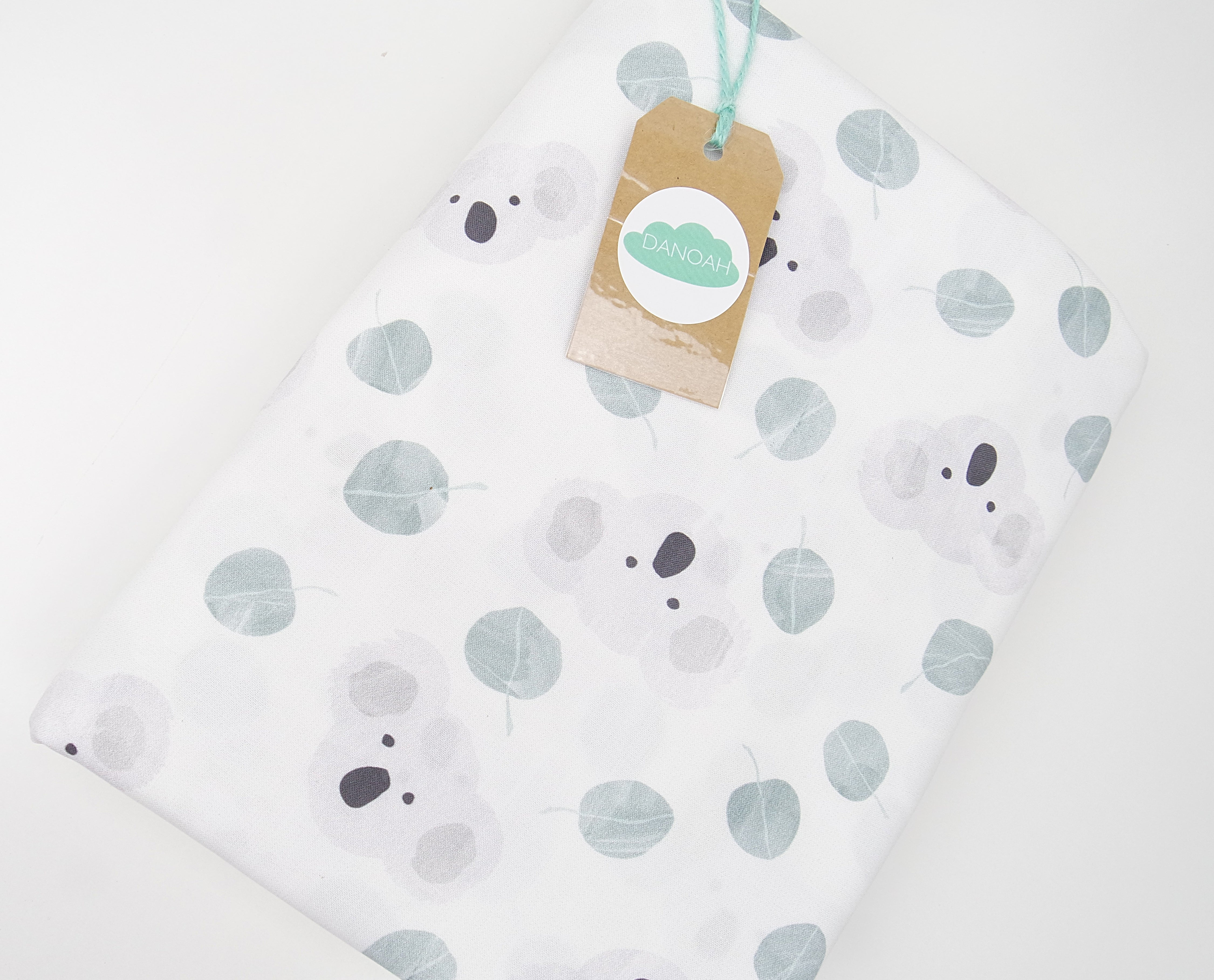 Fitted Cot Sheet ADD-ON to the Australian Koala Collection
