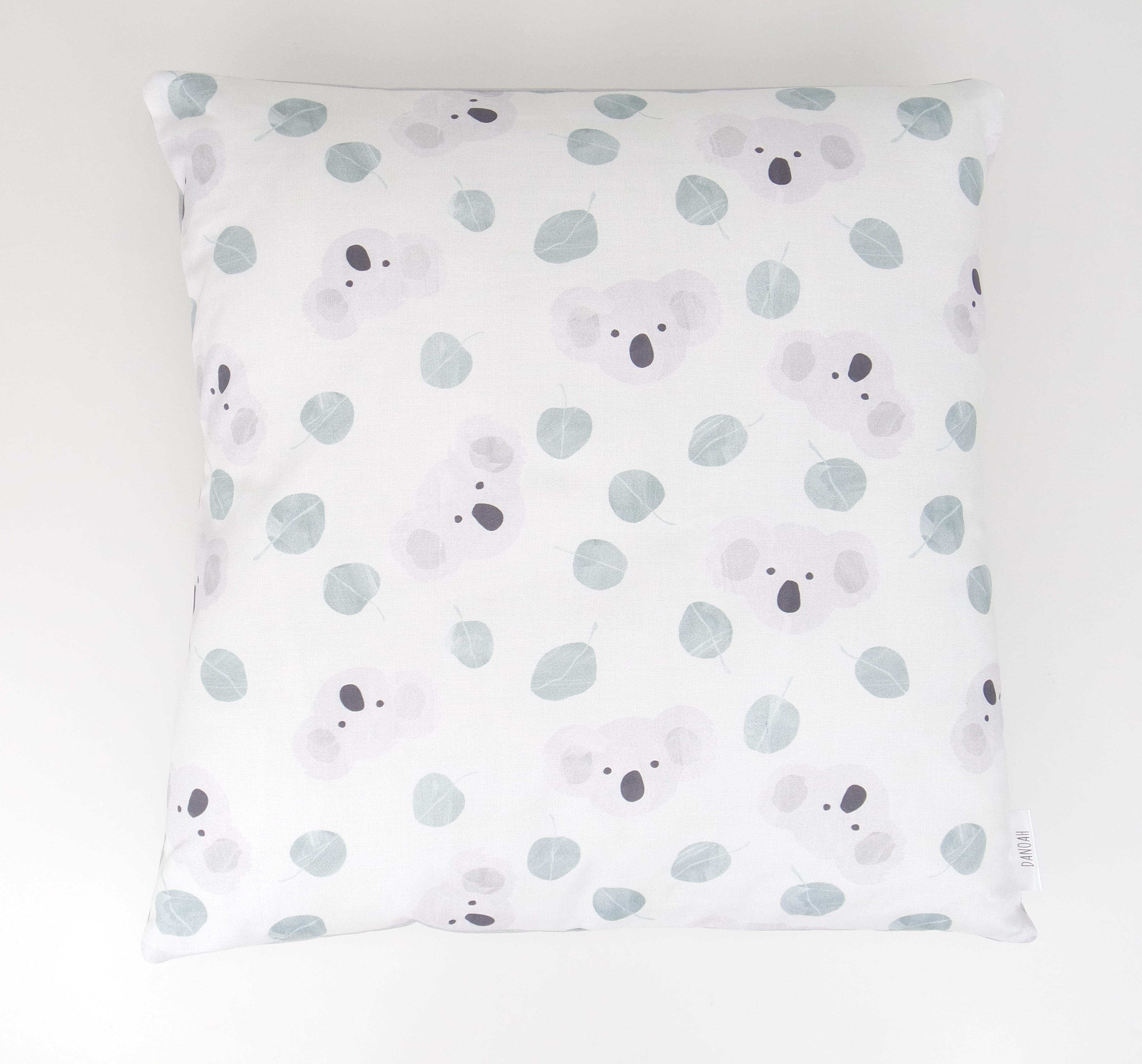 Australian Koala Cushion Cover (Sage Green)
