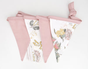 Australian Wildflower Bunting Flags