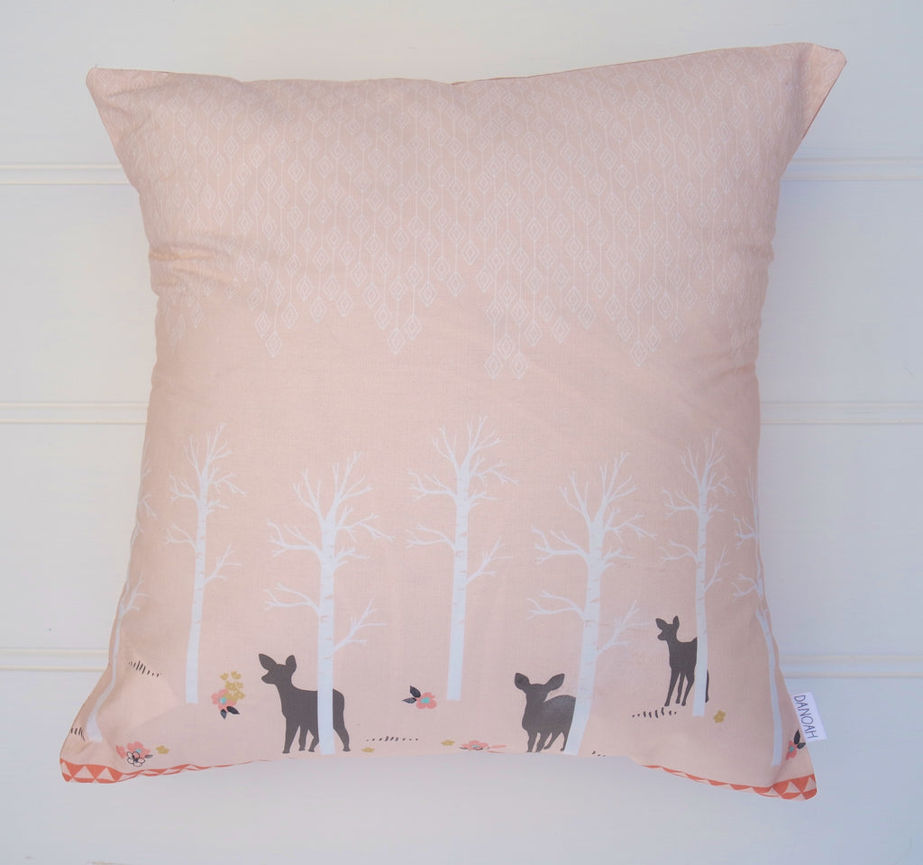 Forest Deer Cushion Cover