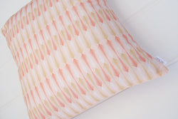 Pink & Gold Arrow Cushion Cover