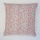 Pastel Flower Cushion Cover