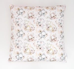 Floral Australian Animals Cushion Cover