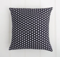 Black & White Cross Cushion Cover