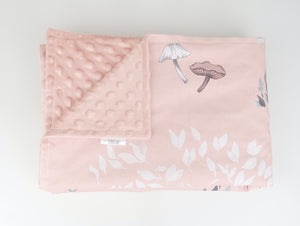 Tortoise and the Hare Minky Baby Blanket's