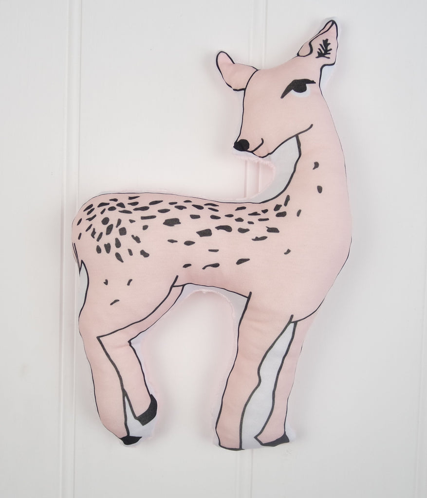 Pink Deer Plush Toy