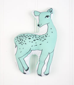 Aqua Deer Plush Toy