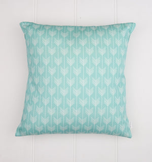 Aqua Arrow Cushion Cover
