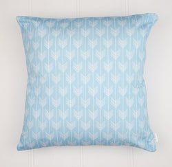 Blue Arrows Cushion Cover