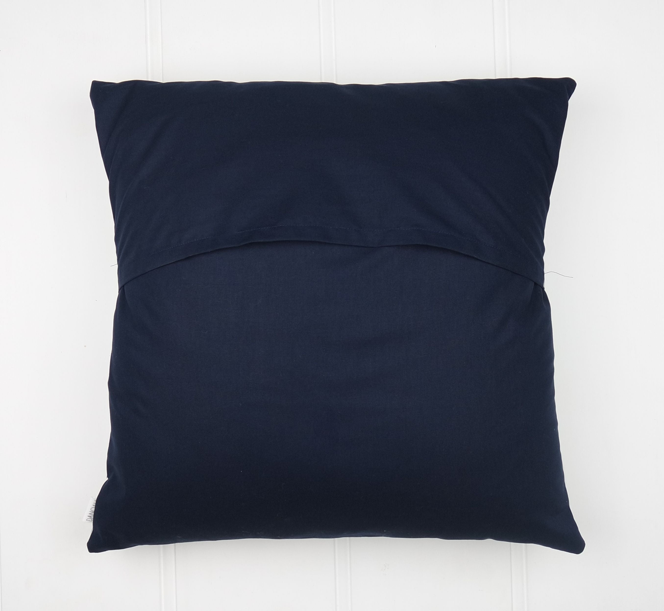 Navy & Mint Woodland Cushion Cover