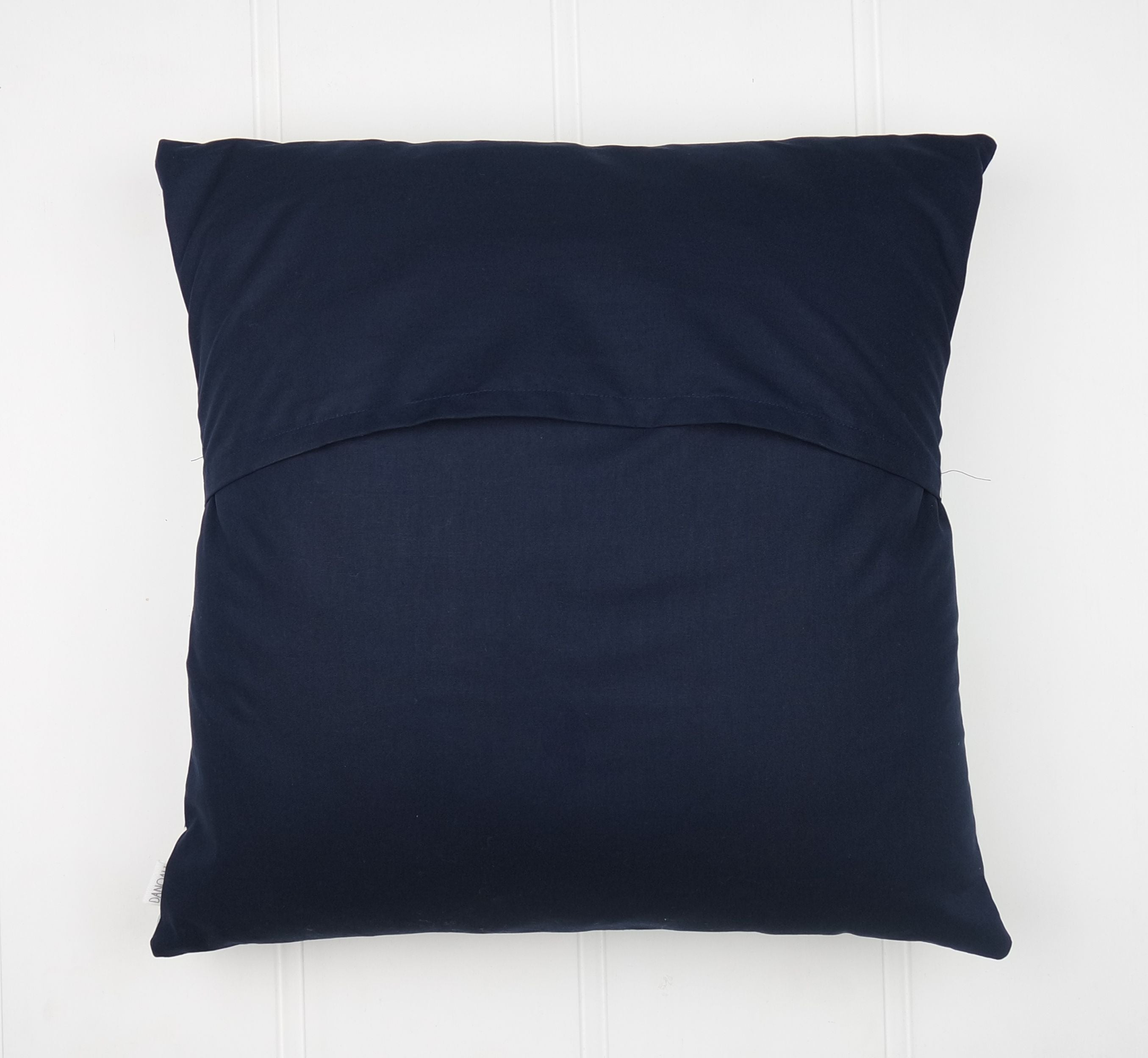 Navy, Mint & Mustard Arrow Cushion Cover